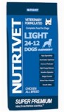 LIGHT 24-12 OVERWEIGHT DOGS (sac de 15 kg)