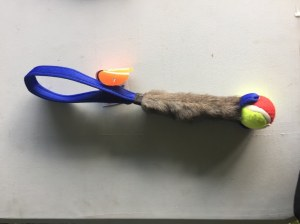 Rabbit Skin Ball Tug